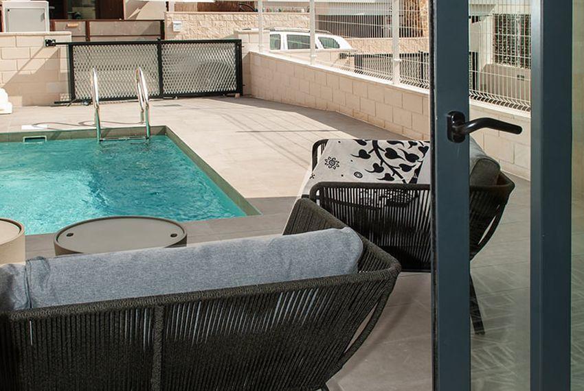 Maison moderne 3 chambres avec piscine privée